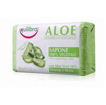 Equilibra Aloe 100% Vegetal Soap aloesowe mydło (100 g)