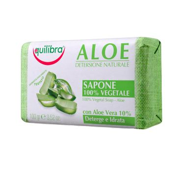 Equilibra Aloe 100% Vegetal Soap aloesowe mydło 100g