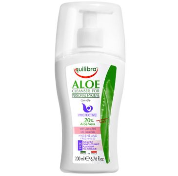 Equilibra Aloe Cleanser For Personal Hygiene aloesowy żel do higieny intymnej (200 ml)