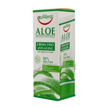 Equilibra Aloe krem przeciwstarzeniowy 50% aloesu 50 ml