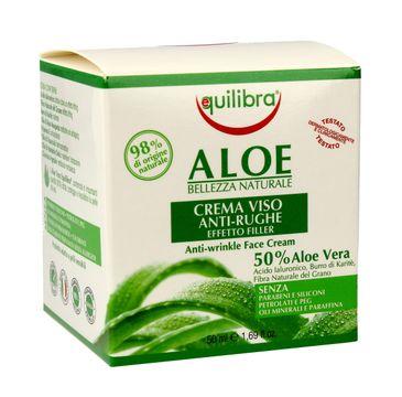 Equilibra Aloe krem przeciwzmarszczkowy 50% aloesu (50 ml)