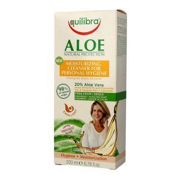 Equilibra Aloe Natural Protection żel do higieny intymnej nawilżający (200 ml)