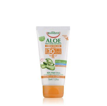 Equilibra Aloe Sun Cream SPF30 aloesowy krem przeciwsłoneczny 75ml