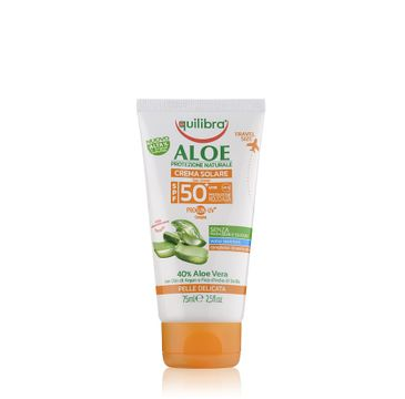 Equilibra Aloe Sun Cream SPF50 aloesowy krem przeciwsłoneczny (75 ml)