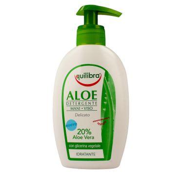 Equilibra Aloe żel oczyszczający do twarzy i rąk 300 ml