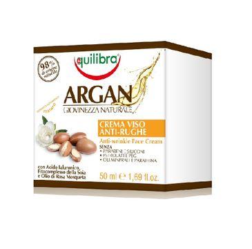 Equilibra Argan Anti-Wrinkle Face Cream arganowy przeciwzmarszczkowy krem do twarzy (50 ml)