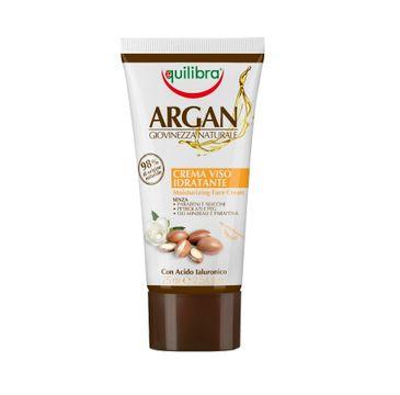 Equilibra Argan Moisturizing Face Cream arganowy nawilżający krem do twarzy (75 ml)