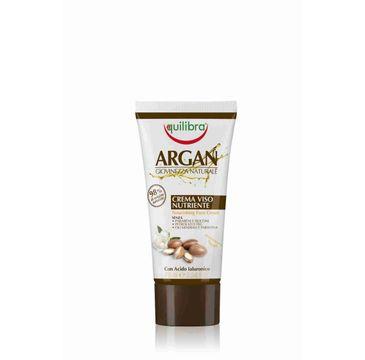 Equilibra Arganowy krem do twarzy odżywczy (75 ml)