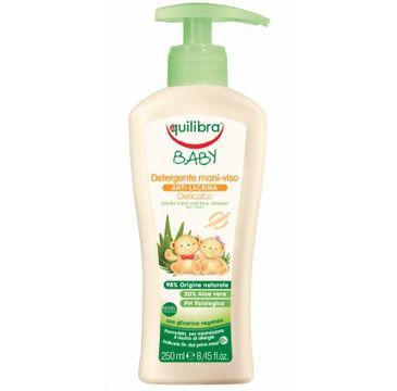 Equilibra Baby Gentle Hand & Face Cleanser delikatne mydełko do rąk i twarzy 0m+ (250 ml)