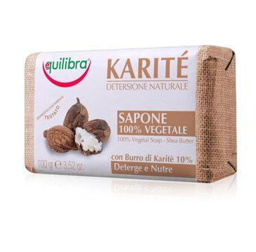 Equilibra Karite 100% Vegetal Soap mydło z masłem Shea (100 g)