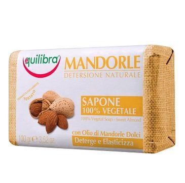 Equilibra Mandorle Soap mydło w kostce Słodkie Migdały (100 g)