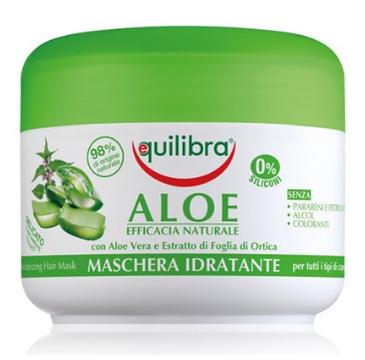 Equilibra Maska nawilżająca do włosów Aloe Vera (200 ml)