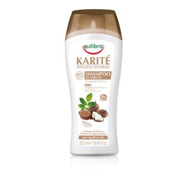 Equilibra Naturale szampon do włosów suchych z masłem shea 250 ml