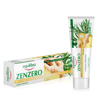 Equilibra Pasta do zębów imbirowa odświeżająca (75 ml)