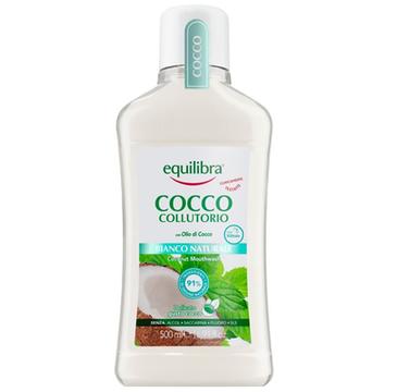 Equilibra Kokosowy płyn do płukania jamy ustnej Naturalna Biel (500 ml)