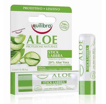 Equilibra – Aloesowy sztyft do ust (5.5 ml)