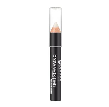 Essence Brown Wax Pen wosk do brwi w kredce 01 Transparent (1.2 g)