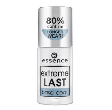 Essence Extreme Last Base Coat bezbarwny lakier bazowy do paznokci (8 ml)