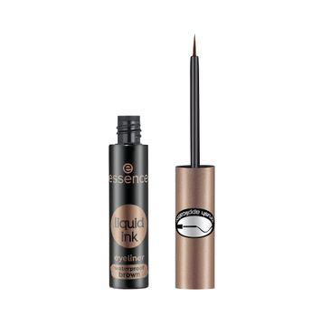 Essence Liquid Ink Eyeliner eyeliner w płynie Brown (3 ml)