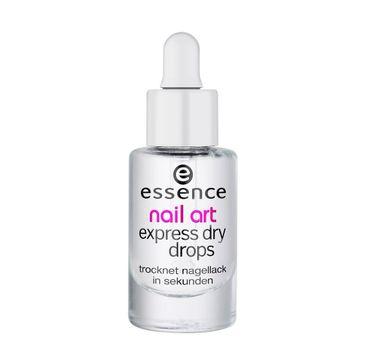 Essence Nail Art Express Dry Drops płyn przyspieszający wysychanie lakieru (8 ml)