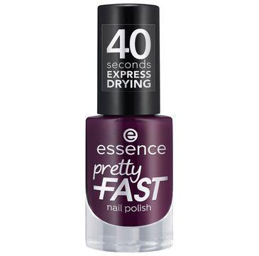 Essence Pretty Fast Nail Polish szybkoschnący lakier do paznokci 05 Purple Express (5 ml)