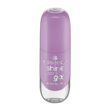 Essence Shine Last & Go! Gel Nail Polish lakier do paznokci 74 Lilac Vibes (8 ml)