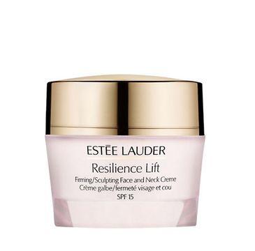 Estee Lauder Resilience Lift Firming Face & Neck Creme – krem ujędrniający do skóry normalnej i mieszanej SPF 15 (50 ml)