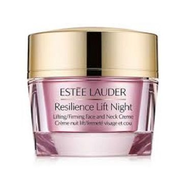 Estee Lauder Resilience Lift Night Firming Sculpting Face and Neck Creme – wygładzający krem na noc (50 ml)