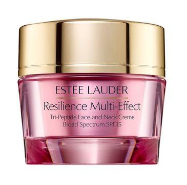 Estee Lauder Resilience Multi-Effect Tri-Peptide Face and Neck Creme SPF15 – ujędrniająco-modelujący krem do twarzy na dzień (50 ml)