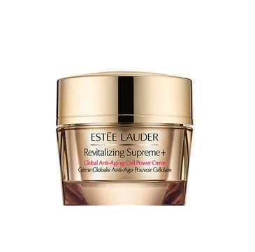 Estee Lauder Revitalizing Supreme+ Global Anti-Aging Cell Power Creme – przeciwzmarszczkowy krem do twarzy SPF15 (50 ml)
