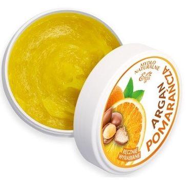 Etja naturalne mydło Argan i Pomarańcza 80 g