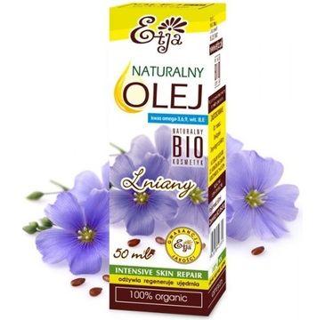 Etja Naturalny Olej Lniany bio 50ml