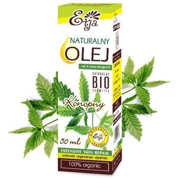Etja olej konopny naturalny bio 50 ml