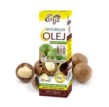 Etja olej makadamia naturalny bio 50 ml