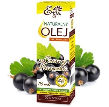 Etja olej z czarnej porzeczki naturalny 50 ml