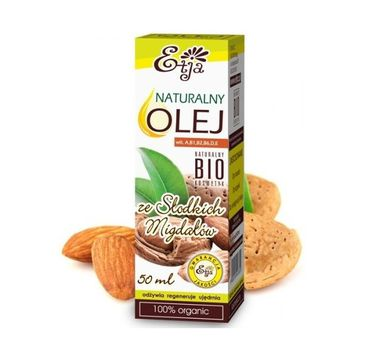 Etja olej ze słodkich migdałów naturalny bio 50 ml