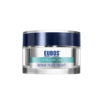 Eubos Anti Age Hyaluron Regenerating Night Care krem z kwasem hialuronowym na noc 50ml