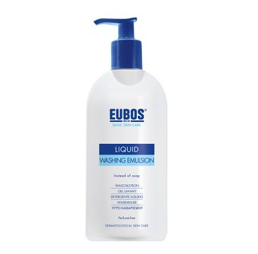 Eubos Basic Skin Care Liquid Washing Emulsion emulsja do mycia ciała bezzapachowa 400ml
