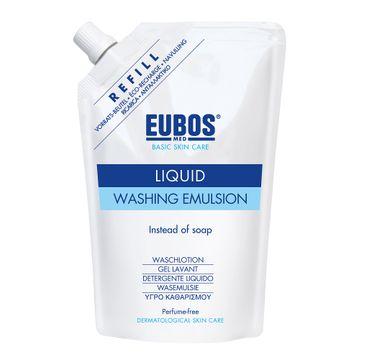 Eubos Basic Skin Care Liquid Washing Emulsion Refill emulsja do mycia ciała bezzapachowa zapas 400ml