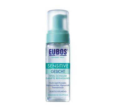 Eubos Sensitive Mousse pianka do mycia cery wrażliwej i suchej 150ml