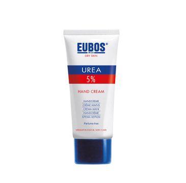 Eubos Urea 5% Hand Cream nawilżający krem ochronny do rąk 75ml