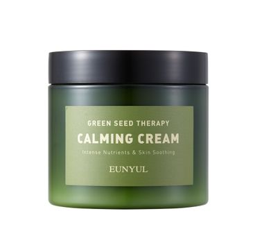 Eunyul Green Seed Therapy Calming Cream kojący krem do twarzy z zielonymi nasionami (270 g)