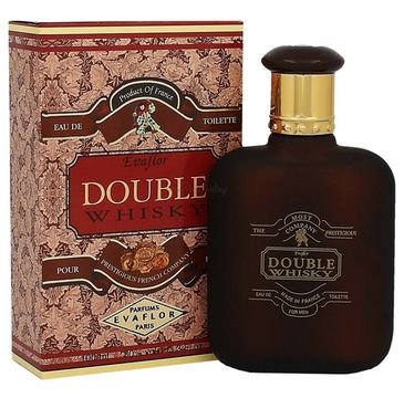 Evaflor Double Whisky For Men woda toaletowa spray (100 ml)