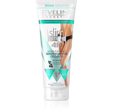 Eveline 4D Slim Extreme – wyszczuplające serum-korektor cellulitu (250 ml)