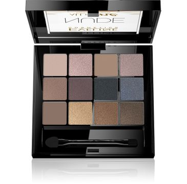 Eveline All in One Eyeshadow Palette – paleta cieni do powiek Nude (12 g)
