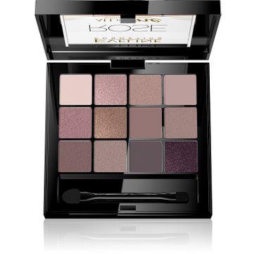 Eveline All in One Eyeshadow Palette – paleta cieni do powiek Rose (12 g)