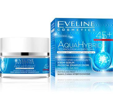 Eveline Aqua Hybrid – przeciwzmarszczkowy krem do twarzy 45+ na dzień i noc (50 ml)