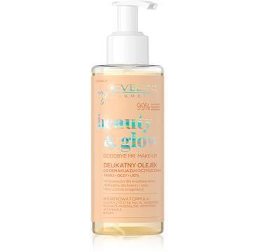 Eveline beauty&glow Lekki olejek do demakijażu i oczyszczania twarzy (145 ml)