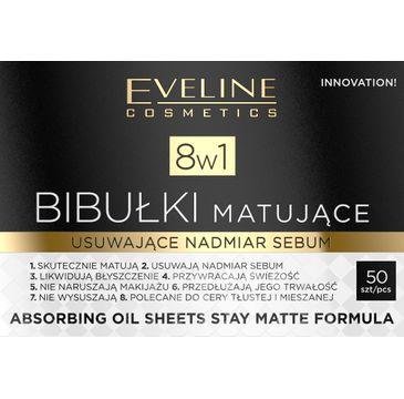 Eveline – bibułki matujące do twarzy 8w1 (1 op.)