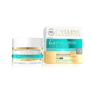 Eveline – Bio Hyaluron Expert Intensywnie regenerujący krem-koncentrat aktywnie odmładzający 70+ (50 ml)